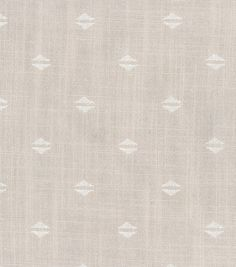 Upholstery Home Decor Print Fabric- Nate Berkus  Witte Pearl Gray