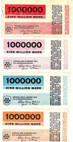 Thuringen, Weimar, Herbert Bayer - Inflationary Currency | Flickr - Photo Sharing!