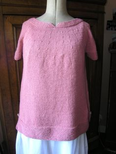 Purl Free Knit Sweater | AllFreeKnitting.com