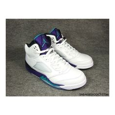 "Air Jordan 5 Retro ""Grape"" - New Images 