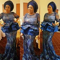 Newest Designs for Owambe Aso Ebi : Scintillating Skirt and Blouse for Women - DeZango Fashion Zone