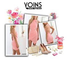 """YOINS"" by smajicelma ❤ liked on Polyvore featuring Aquarelle and Ballard Designs"