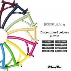 Do you know about it?   #brompton #bicycle #frame #colours  #mightyvelo