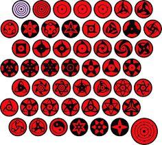 Variations eyes in Naruto Mangekyou Sharingan, Rinne Sharingan, Sharingan Eyes, Sarada Uchiha, Naruto Shippuden Sasuke, Anime Naruto, Art Naruto, Naruto Eyes, Naruto Drawings