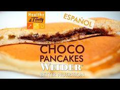 Choco pancakes (español) | Healthy&Tasty by Weider - YouTube