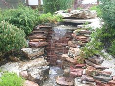 Nice Waterfall Landscaping Ideas Best Waterfall Ideas For Backyard And Home Garden Drawhome - Backyard landscape design is not just placing plants in your Waterfall Landscaping, Backyard Landscaping, Landscaping Ideas, Backyard Ideas, Hydroponic Gardening, Organic Gardening, Garden Oasis, Home And Garden, Garden Tips