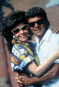 Frankie and Annette in Back to the Beach, 1987