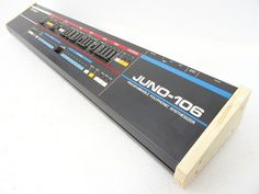 MATRIXSYNTH: Modified Roland JUNO-106 - Long Desktop with Wood ...