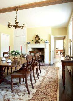 Simple Georgian Dining Room