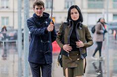 Pin for Later: Retour Sur les Meilleurs Looks Street Style de la Fashion Week de Paris Jour 1 Leigh Lezark