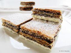 IMG_4704 copy Italian Desserts, Mini Desserts, Italian Recipes, Biscotti Cookies, Cake Cookies, Edible Art, Dessert Bars, Gelato, Sweet Recipes