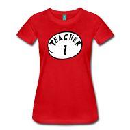 Women's T-Shirts ~ Women's Premium T-Shirt ~ Teacher 1 | Women's