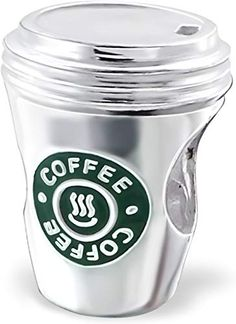 Star Bucks Coffee Cup Charm Bead - 925 Sterling Silver European Charms For Bracelets For Women - Starbucks Lovers Style Replica - Logo On Both Sides - Hole - By Silvadore UK * Hope that you do love the picture. (This is our affiliate link) Silver Jeep, Bracelet Gift Box, Jewelry Logo, Silver Stars, Jewelry Stores, Silver Jewelry, Silver Ring, Silver Earrings, Coffee Cups