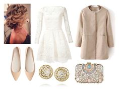 """Untitled #5132"" by dominika-h ❤ liked on Polyvore featuring Oscar de la Renta, Witchery, Fred Leighton and ALDO"