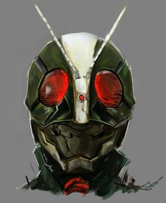 Kamen Rider 2   Kamen Rider: The FIRST    仮面ライダー2号 仮面ライダーThe FIRST  by: novicekid, via deviantart