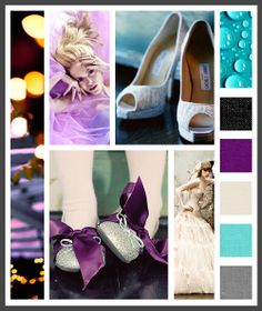 Lizzy B Loves visual + sparkle = inspiration : vibrant blue tones quinceañera (click on image to view in full)  #wedding_inspiration #wedding_color_palette #color_palette_inspiration #quince_inspiration #quinceanera_inspiration #quinceanera_color_palette