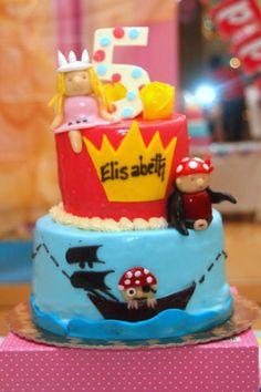 Princess & Pirate party!