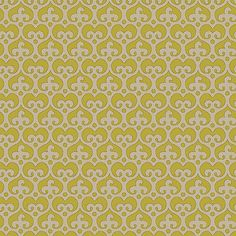 "Mod Damask (Avocado) - modern damask design to print on fabric for DIY sewing and crafts. The Textile District prints fabric on demand on the ground fabric you choose. Each image represents 27"" square to show scale of the printed design. #fabrics #textiledistrict"
