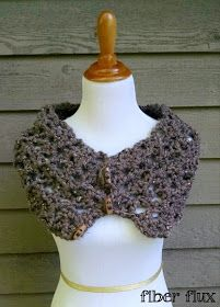 The Tweedy Twig Cowl is luxurious and lofty and is made with a chunky, easy to crochet fan pattern. All you need is one skein of yarn ...