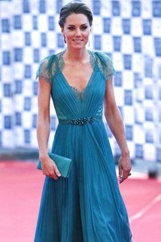 Kate Middleton wearing Jenny Packham dress, The BOA Olympic Concert, Royal Albert Hall, 11 May 2012