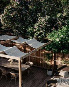 Lobster House, Outdoor Furniture Sets, Outdoor Decor, Terrace Garden, Sun Lounger, Balcony, Pergola, Solar, Backyard