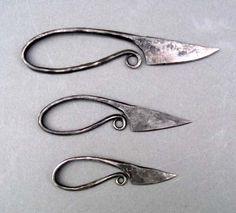 Viking woman's knives