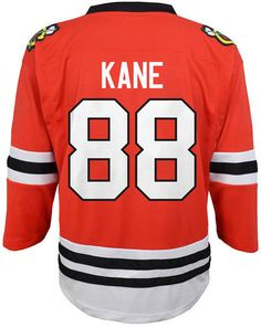 Authentic Nhl Apparel Patrick Kane Chicago Blackhawks Player Replica Jersey b8a5d5afd