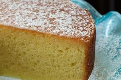 French Grandmother's Lemon Yogurt Cake - a fabulous cake with a really fun history. It's moist and super delicious and it can be thrown together in minutes!
