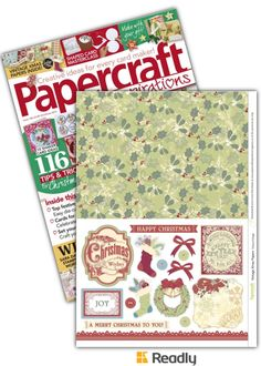 Suggestion about Papercraft Inspirations Xmas 2015 page 45