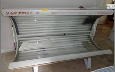 This tanning bed, offered at auction, Saturday, June 15th, 10:00 am.  Live onsite auction.  Ayers Auction & Real Estate, Oneida, Tn. 37841. Lic#3949, 10% Buyer's Premium.