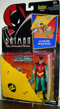 Batman The Animated Series Robin with Turbo Glider