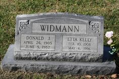 Donald J. Widmann Sr (1905 - 1957) - Find A Grave Photos