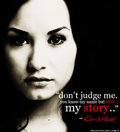 i love this girl soo much. she is my inspiration. i love her music. its what keeps me sane and alive. love you demi so much