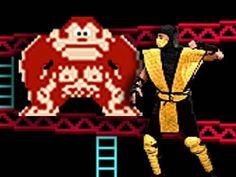 Video Game Mashups : Mortal Kombat vs. Donkey Kong