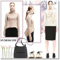 How To Wear SVM7 Outfit Idea 2017 - Fashion Trends Ready To Wear For Plus Size, Curvy Women Over 20, 30, 40, 50