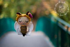 Papillon en papier: crochet