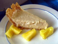 Tarte à la crème et à la noix de coco