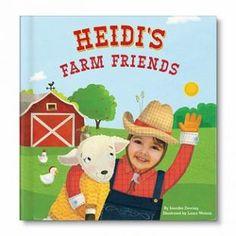 My Farm Friends Personalized Book