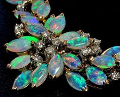 One of the most exquisite opal necklaces ever sold through Divine Finds Jewelry at Ruby Lane