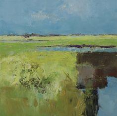 Jan Groenhart ~ Abstracte polder