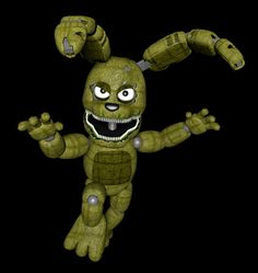 My Friend Plushtrap! Fnaf Characters, Five Nights At Freddy's, Teddy Bear, Fandoms, Kawaii, 3d, Animals, Animales, Animaux