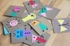 Bloesem Kids | Kids Craft project: Make your own memory game