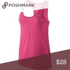 New Nike Dry Cool Breeze Women's Running Tank Top The Nike Dri-Fit Cool Breeze running tank is ideal to use on hot days thanks to its lightweight breathable fabric. Brand new with tags Nike Tops Tank Tops