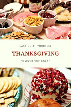 Easy Do-It-Yourself Thanksgiving Charcuterie Board