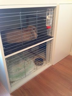 Bunny Cage with Faktum cabinets