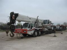 Find Used 2006 Link-belt Htc-8690 #Crane in Lewisville @ FindUsedHeavyMachinery.Com