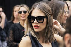 Red Lips #StreetStyle 'NYFW #SS16 (Foto: © Getty Images)