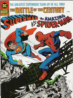 Superman vs Spiderman Treasury Edition