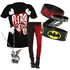 Red Pierce the Veil Outfit