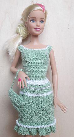 Die 70 Besten Bilder Von Puckis Puppenstube Barbie Dress Crochet